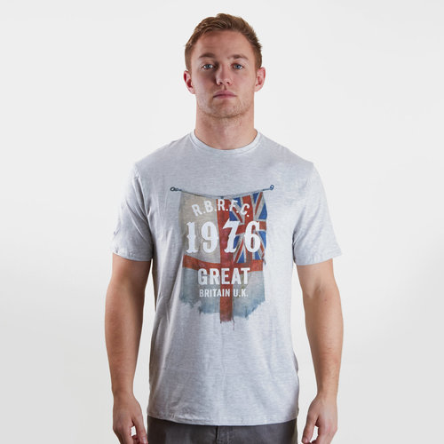 1976 Flag Graphic Rugby T-Shirt