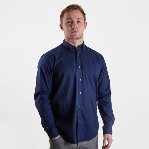Stretch Pinpoint Oxford L/S Shirt