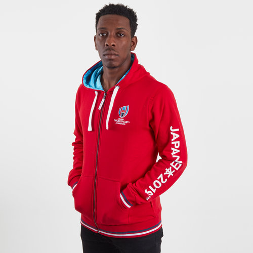 RWC 2019 Full Zip Hooded Sweat