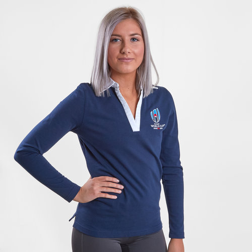 RWC 2019 L/S Ladies Rugby Shirt