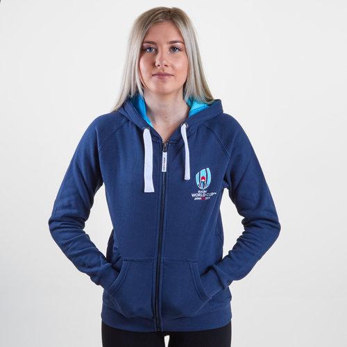 RWC 2019 Full Zip Ladies Hooded Sweat