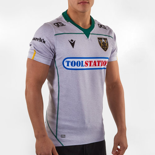 Northampton Saints 2019/20 Alternate S/S Authentic Test Rugby Shirt
