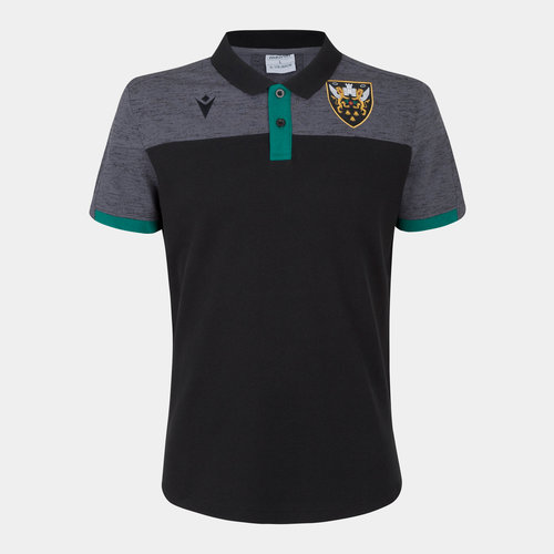 Northampton Saints 2019/20 Players Travel Rugby T-Shirt