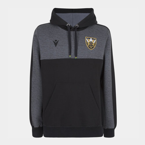 Northampton Saints 2019/20 Players Travel Hooded Sweat