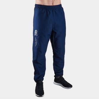 Cuffed Hem Stadium Pants