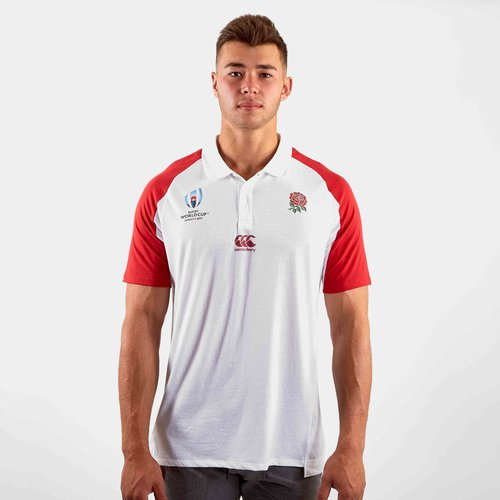 England RWC 2019 Performance Rugby Polo Shirt