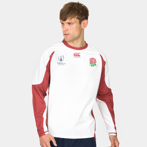 England RWC 2019 Tech Drill Rugby Training Top