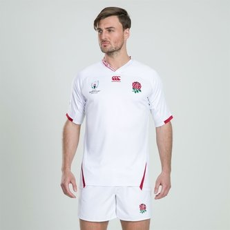England RWC 2019 Home Pro S/S Rugby Shirt