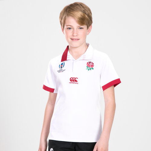 England RWC 2019 Youth Home Classic S/S Rugby Shirt