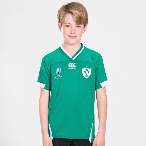 Ireland IRFU RWC 2019 Youth Home Pro S/S Rugby Shirt