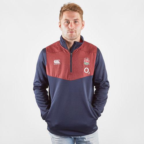 England 2019/20 Players 1/4 Zip Top