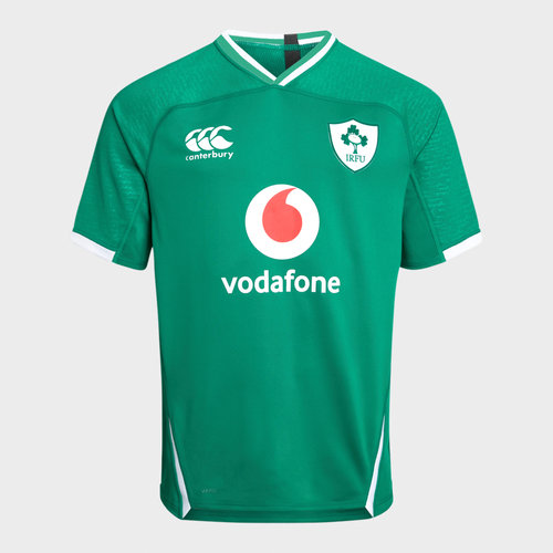 Ireland IRFU 2019/20 Youth Home Pro S/S Rugby Shirt