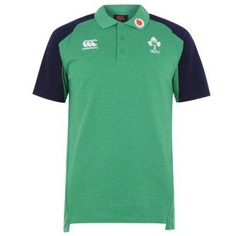 Ireland IRFU 2019/20 Polo Shirt Mens