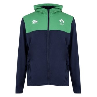 Ireland IRFU 2019/20 Full Zip Hooded Rugby Sweat