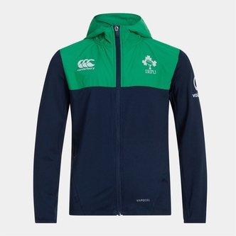 Ireland IRFU 2019/20 Kids Full Zip Hooded Rugby Sweat