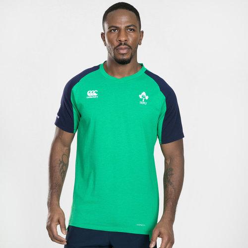 Ireland IRFU 2019/20 Players Cotton Rugby Training T-Shirt