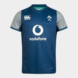 Ireland IRFU 2019/20 Kids Drill Rugby Training T-Shirt