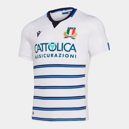 Italy 2019/20 Alternate S/S Replica Rugby Shirt