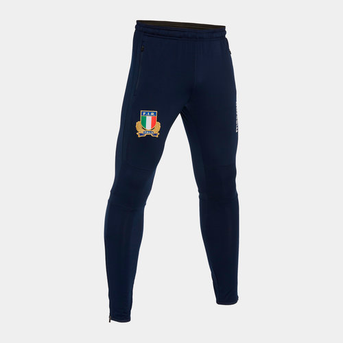 Italy 2019/20 Players Fitted Rugby Training Pants