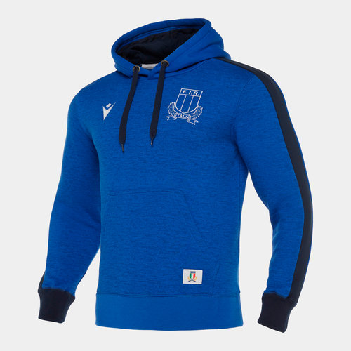 Italy 2019/20 Players Travel Hooded Sweat