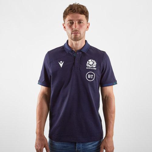 Scotland 2019/20 Home Cotton S/S Replica Shirt