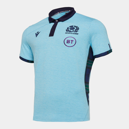 Scotland 2019/20 Alternate Cotton S/S Replica Rugby Shirt