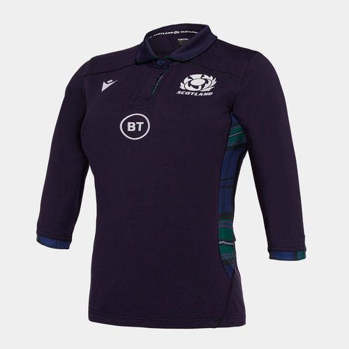 Scotland 2019/20 Ladies Home Cotton Replica Rugby Shirt