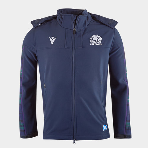 Scotland 2019/20 Players Softshell Rugby Jacket