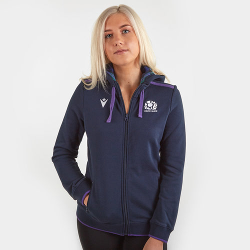 Scotland 2019/20 Ladies Cotton Hooded Rugby Sweat