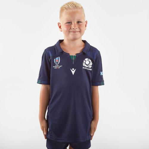 Scotland RWC 2019 Kids Home S/S Replica Shirt