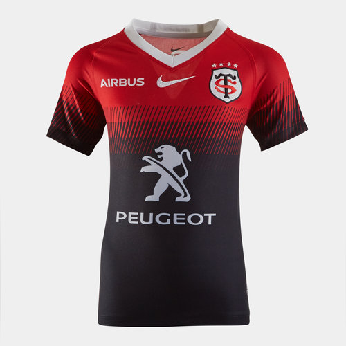 Toulouse 2019/20 Kids Home S/S Replica Rugby Shirt
