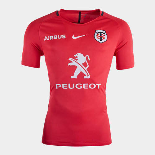 Toulouse 2019/20 Players Squad S/S Rugby Training Shirt