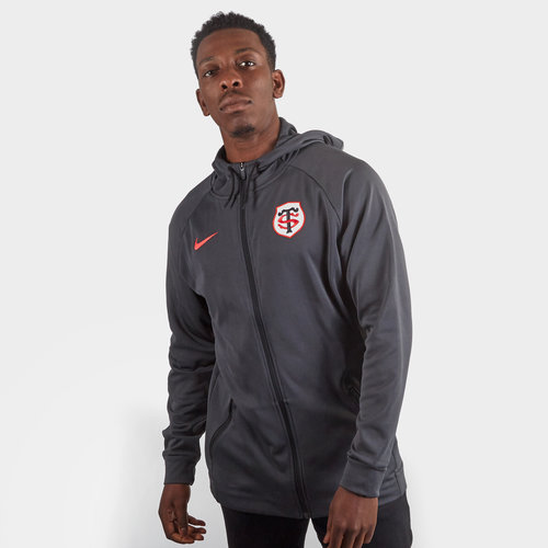Toulouse 2019/20 Players Full Zip Hooded Sweat