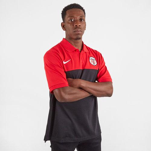 Toulouse 2019/20 Players Pique Polo Shirt
