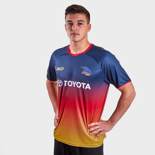 Adelaide Crows 2019 AFL Players Training T-Shirt