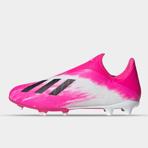 X 19.3 Laceless Childrens FG Football Boots