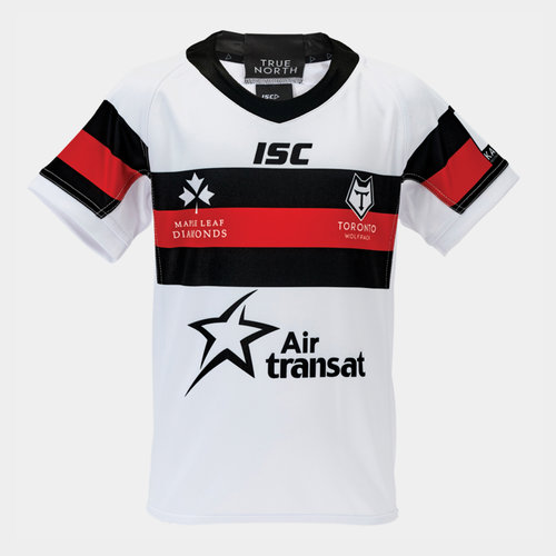 Toronto Wolfpack 2019 Kids Home S/S Rugby League Shirt