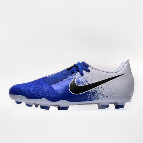 df3846f28 Nike Phantom Venom Kids Academy FG Football Boots. White Black Racer Blue
