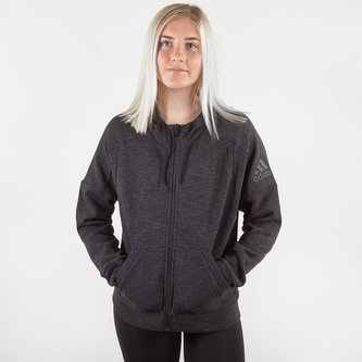 ID Melang Zip Hoody Ladies