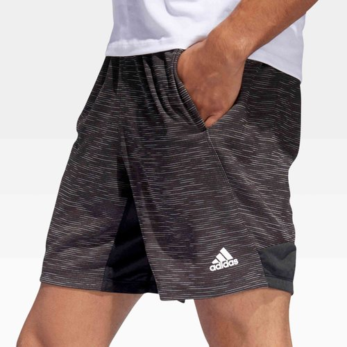Sport Striped Heather Training Shorts