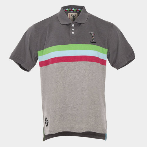 Harlequins 2018/19 Stripe Rugby Polo Shirt