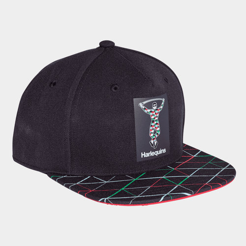 Harlequins 2018/19 Flat Brim Rugby Cap