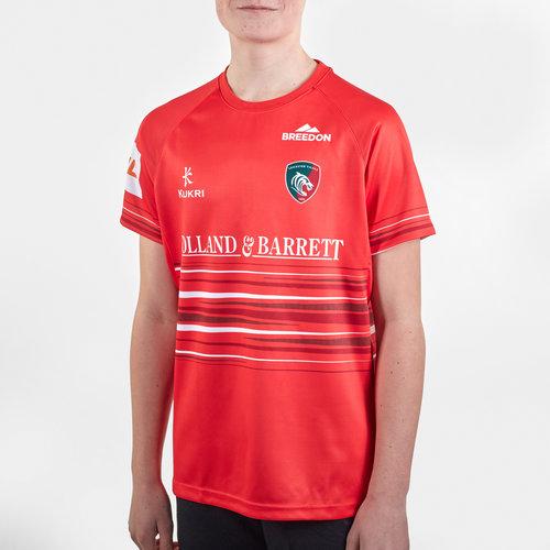 Leicester Tigers 2019/20 Alternate Kids Replica Shirt