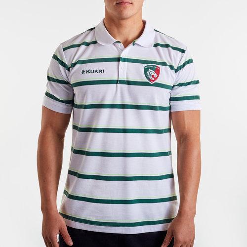 Leicester Tigers 2019/20 Yarn Dye Polo Shirt
