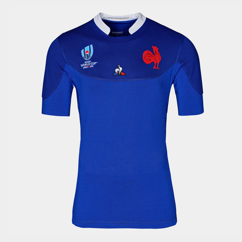 France RWC 2019 Home Authentic Test S/S Rugby Shirt