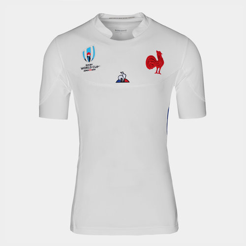 France RWC 2019 Alternate Authentic Test S/S Rugby Shirt