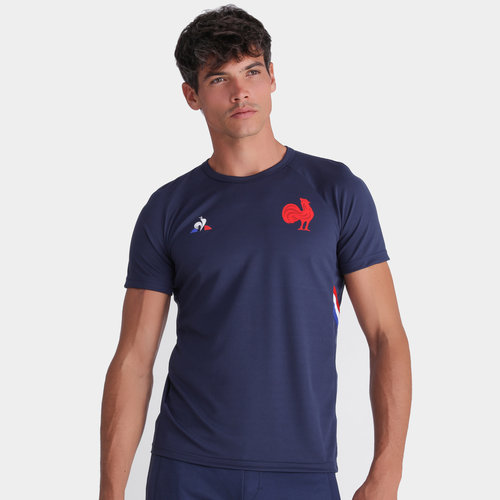 France 2019/20 Players Rugby Training T-Shirt