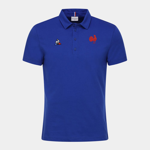 France 2019/20 Supporters Rugby Polo Shirt