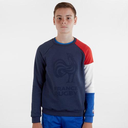 France 2019/20 Kids Crew Rugby Sweatshirt