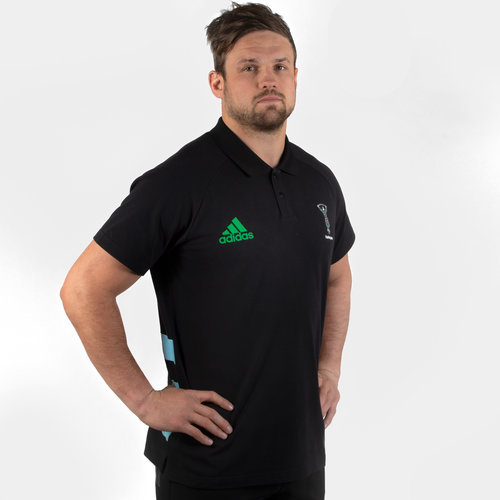 Harlequins 2019/20 Players Rugby Polo Shirt